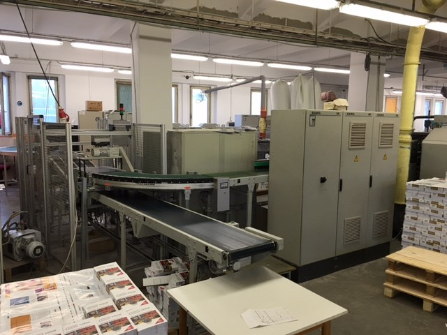 Perfect Binding Line Kolbus KM 470 Year 2003