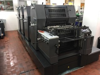 HEIDELBERG PRINTMASTER GTO 52-4+