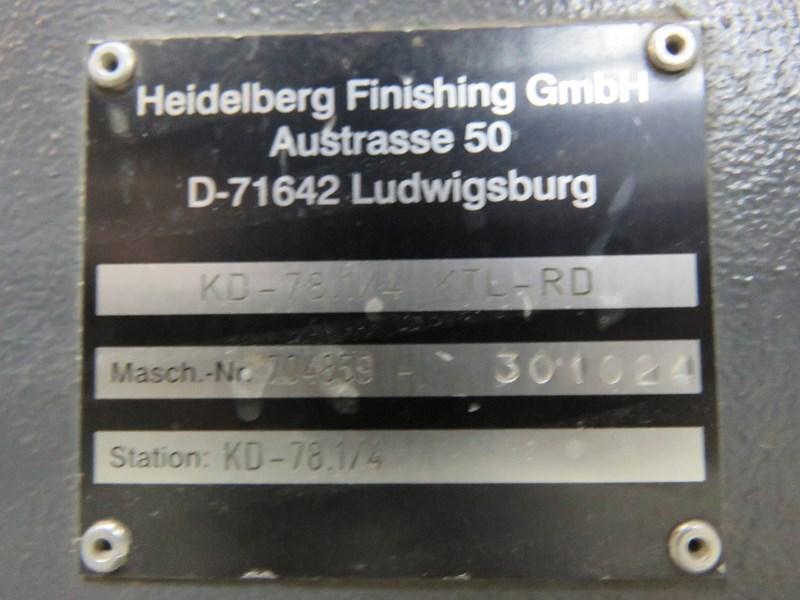 Heidelberg KD 78/4 KTL