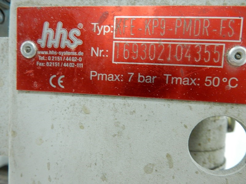 HHS Glue inject unit