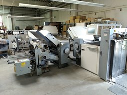Heidelberg Stahlfolder TH-82 6-4-2 + 4-4 knife