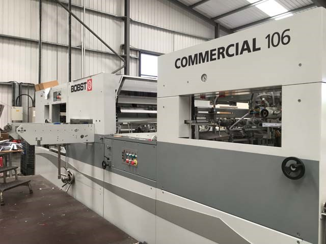 Bobst Commercial  106 Automatic Die Cutter