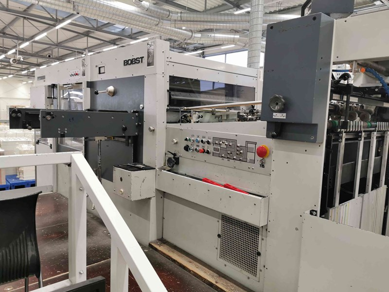 Bobst SP 102 E Automatic Die Cutter