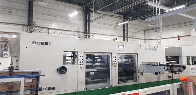 Bobst 104ER Automatic Die Cutter