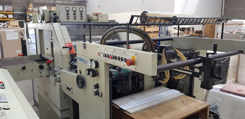 Gietz FSA 790 S Hot Foil Embosing Machine