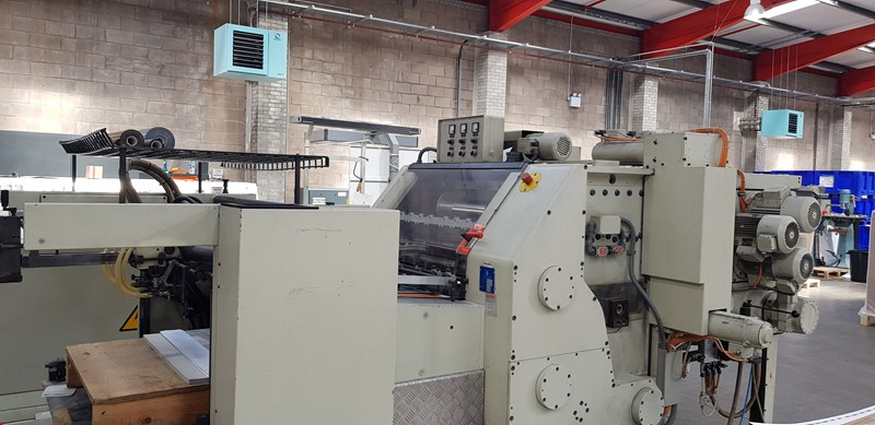 Gietz FSA 790 S Hot Foil Embosing Machine