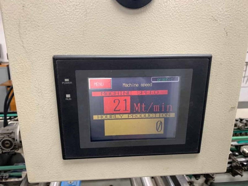 Grassi Olimpia 115 Straight Line and Crash Lock Carton Gluer