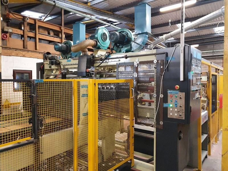 HRB  Pack 918 Printer Slotter Box Gluing Line