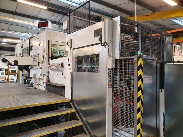 Iberica AR 80 Automatic Corrugated Die Cutter