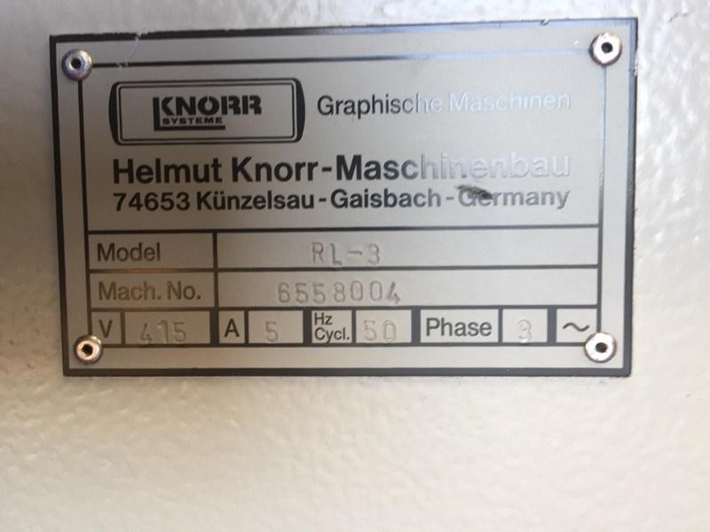 Knorr RL3 Paper Jogger