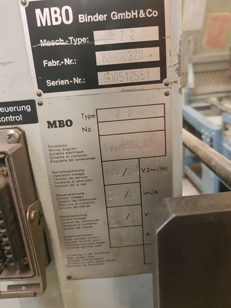 MBO B30 4/4/4/K  32 Page Folder