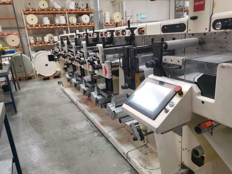 Nilpeter FA 2500 Label Press