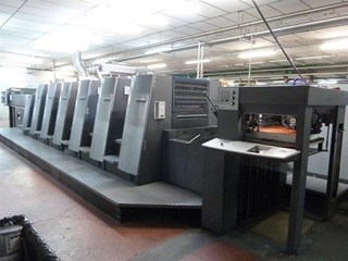 Heidelberg CD 74 6 + L F UV