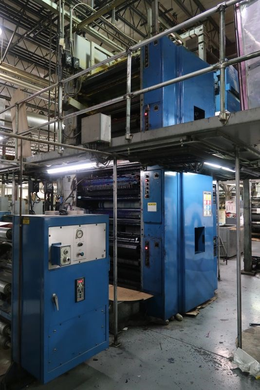 1996 Goss C450 (4) Unit (1) Web Offset Press