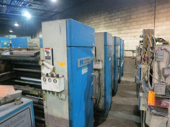 (1) Harris M110B Printing Unit