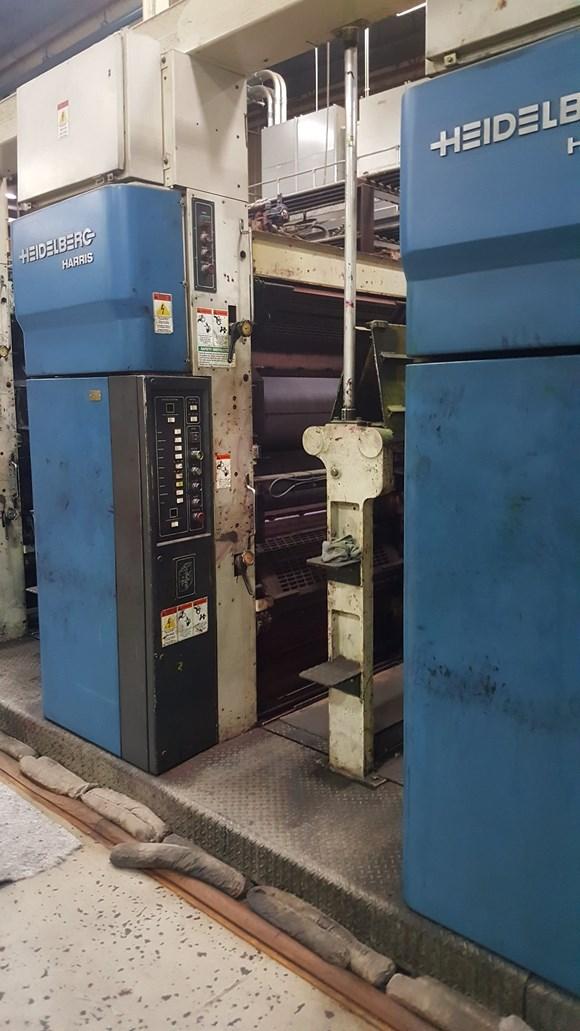 1997 Heidelberg Harris M1000B (9) Unit (2) Web Press