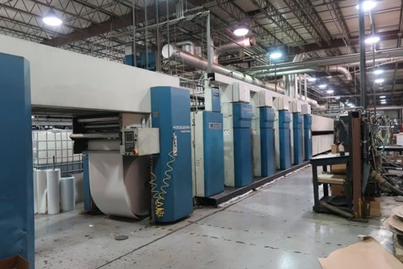 1998 Heidelberg M1000BE (5) Unit (1) Web Offset Press