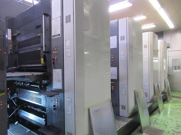 2008 Komori System 38S (4) Unit (1) Web Press