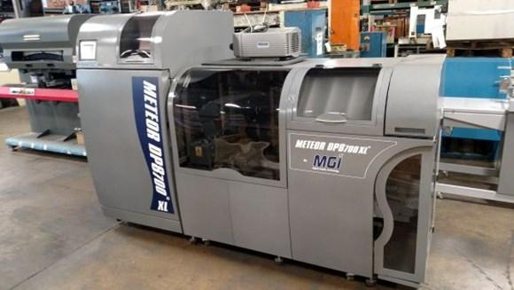 2015 MGI Meteor DP8700 XL Digital Press