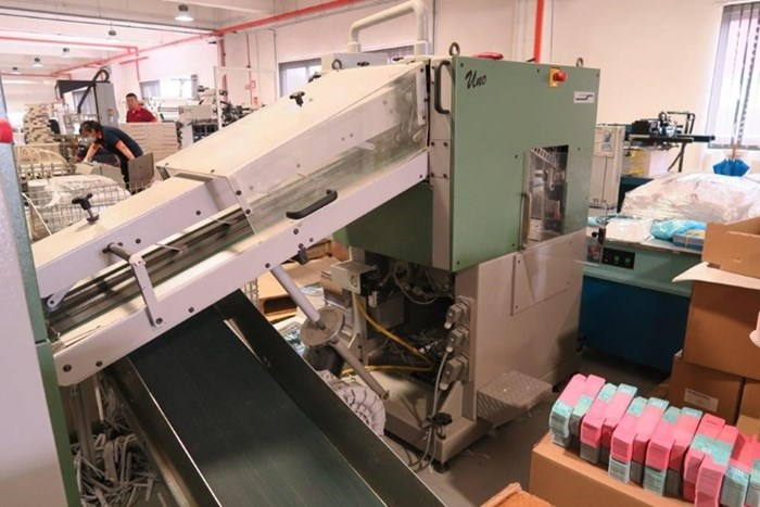 Bobst Domino 165