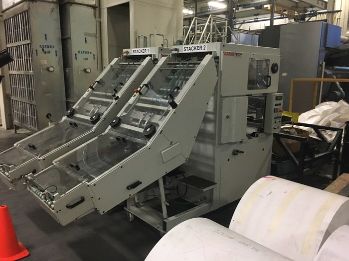 Reconditioned Gamm Tech STC70 Model Stackers