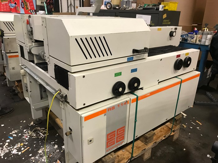 Gammerler RS114/530 Rotary Trimming Line