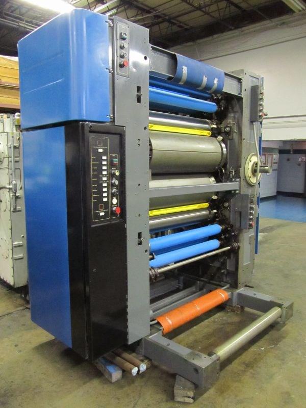 (1) REBUILT Harris M1000B Printing Unit