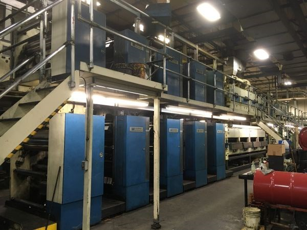 Harris NC450 (8) Unit (2) Web Press