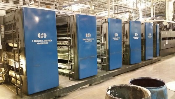 1994 Heidelberg Harris M600B24 (5) Unit (1) Web Press