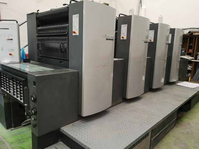 Heidelberg SM74 4 color