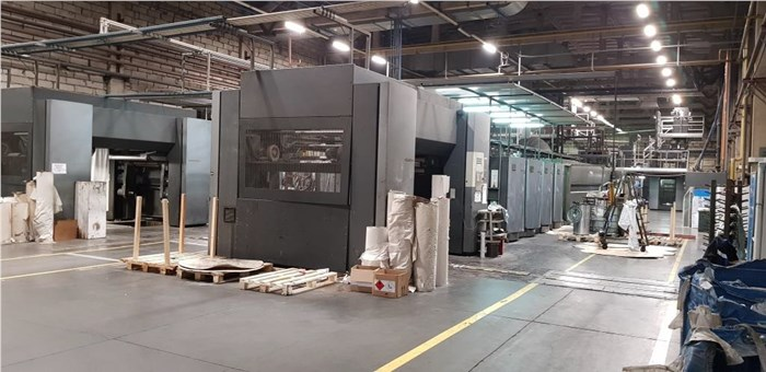 Heidelberg Sunday 2000 (8) unit (2) Web Press (Duplex)