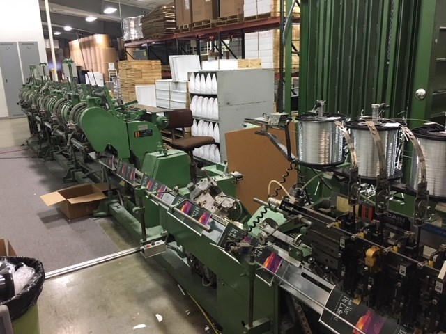 McCain Saddle Stitcher