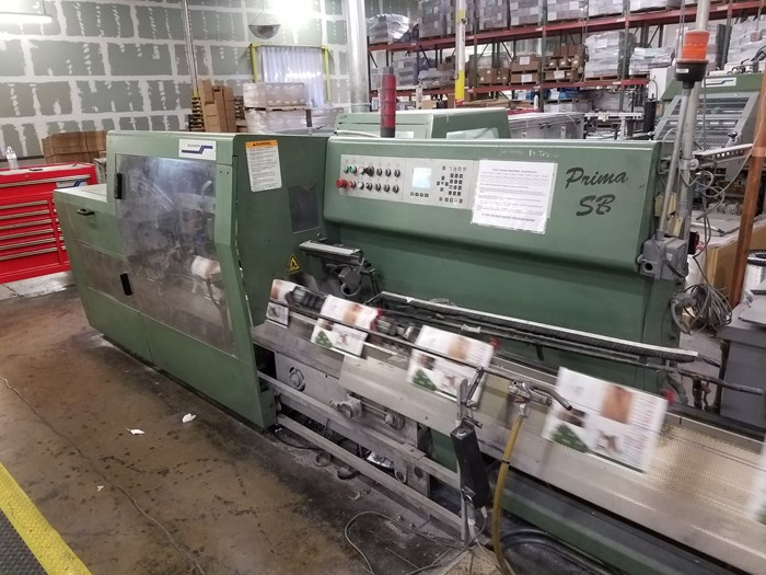 2000 Muller Martini Prima SB Saddle Stitcher