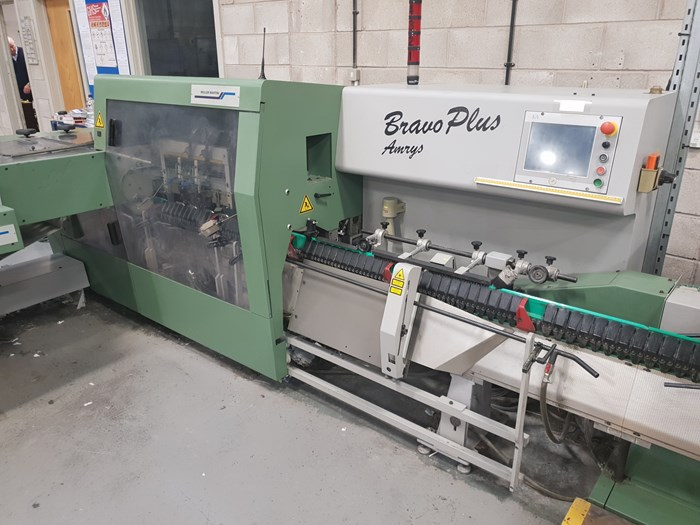 Muller Martini Bravo Plus Amrys +Saddle Stitcher
