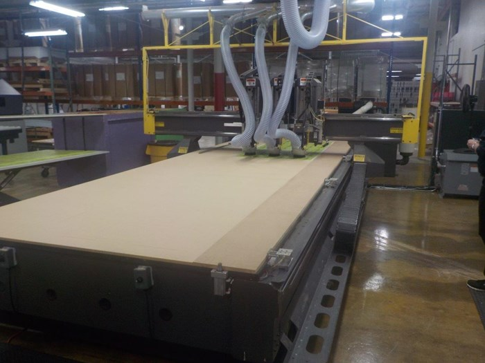 2008 Multicam 5000 Series CNC Router
