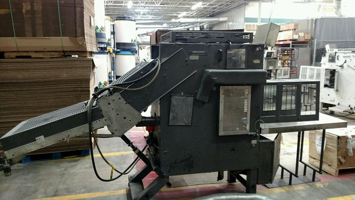 """Rima RS-3010S 17"""" Compensating Stacker"""