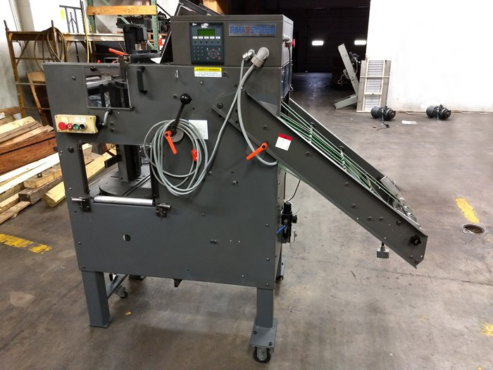 """1999 Rima Compensating Stacker Model: RS-10S 9-1/4"""""""