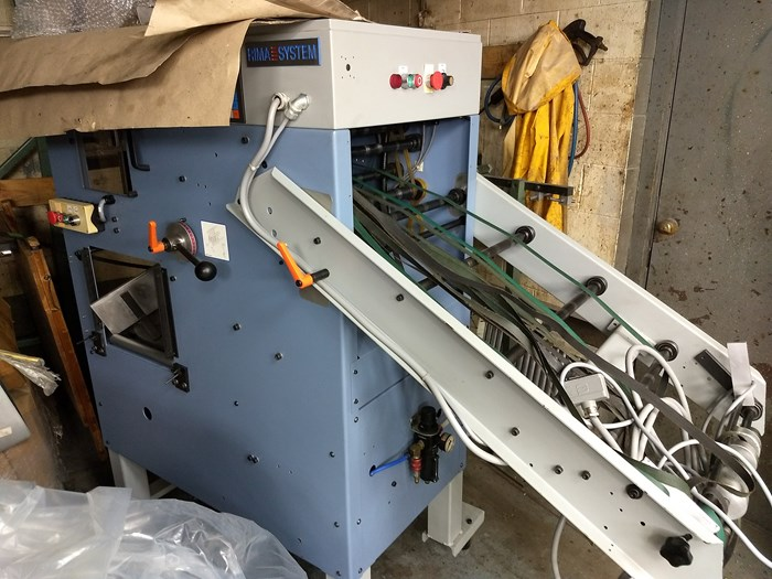"""1998 Rima Compensating Stacker Model: RS-10S 9-1/4"""""""
