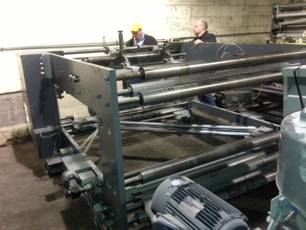 Scheffer Prefolder / Ribbon Shifter with (2) Plow Positions