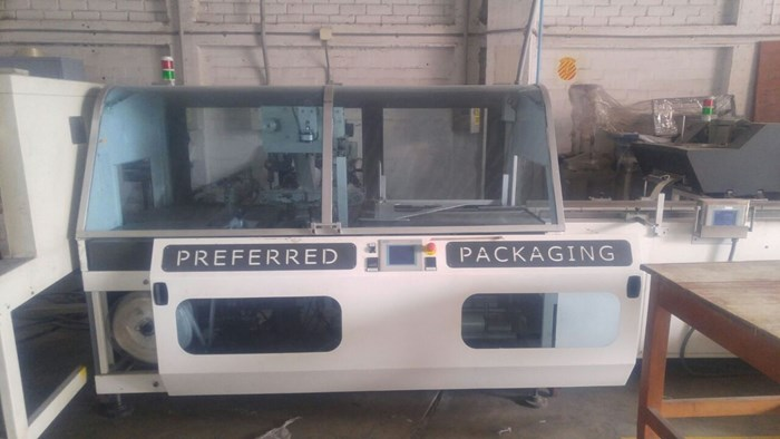 2010 Preferred Packaging PP500BM Poly Bagging Machine