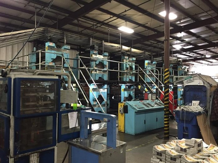 Tensor Tensor T 1400 Web Offset Press Line