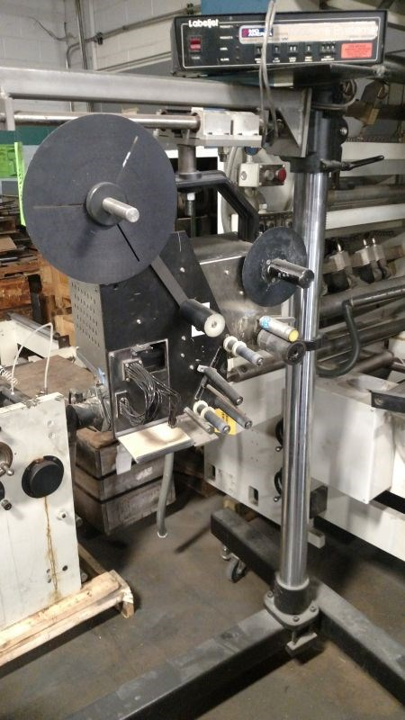 Willett Labeljet Model 2300-45 Label Applicator