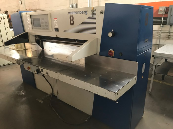Wholenberg 137 Paper Cutter
