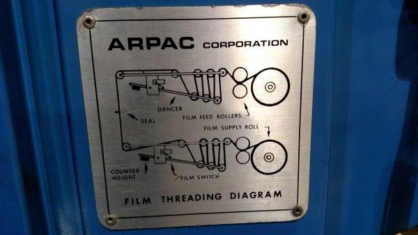 Arpac Model 108-24 Shrink Wrap Tunnel