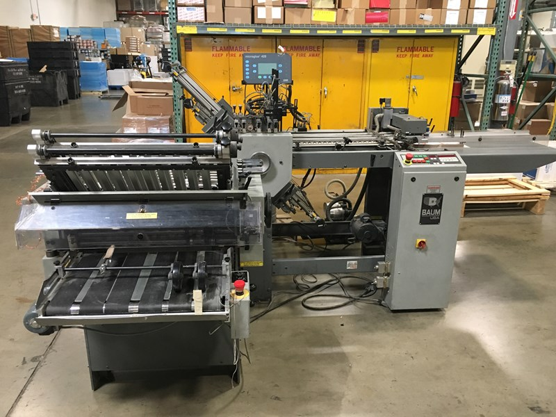 Baum 1320A-3-P-3 Folder with Micro Gluer 428