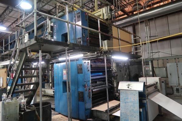 Goss®  C450 (4) Unit (1) Web Offset Press