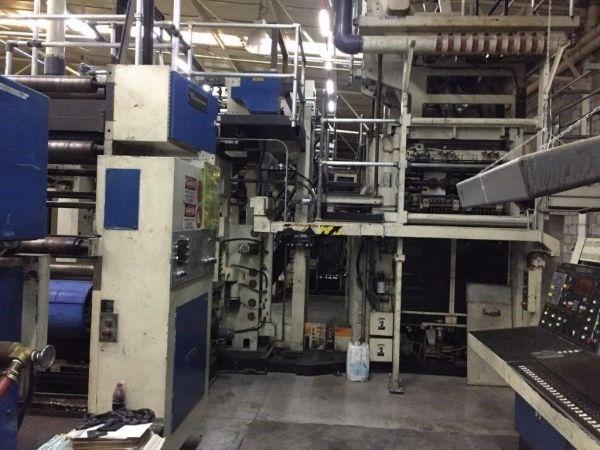 Harris M1000B (5) Unit (1) Web Press