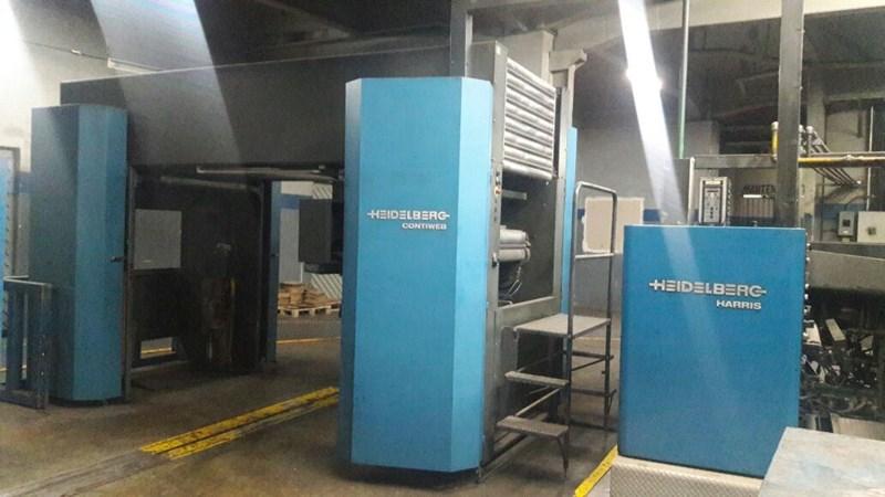 Heidelberg-Harris® M130 (4) Unit (1) Web Press
