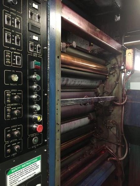 Harris NC450 (8) Unit (2) Web Press