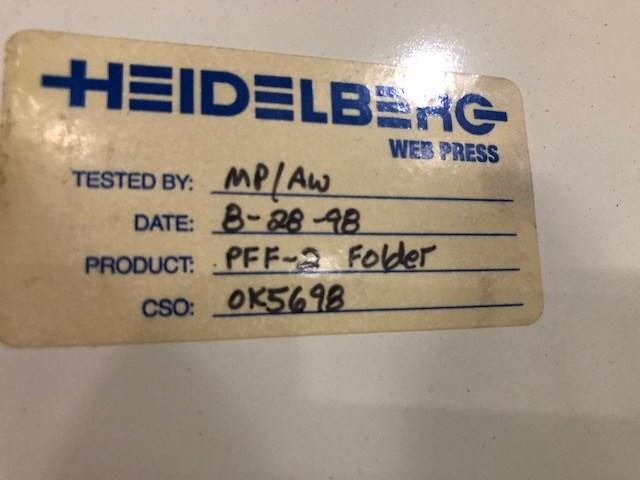 Harris Heidelberg® PFF-2 Folder